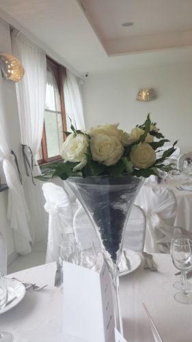 Matrimonio In Bianco E Nero : Allestimento bianco e nero u i giardini di cesare ristorante per
