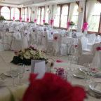 allestimento bianco e fucsia location per matrimoni ercolano i giardini di cesare ristorante per matrimoni ercolano portici torre del greco napoli