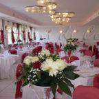 allestimento rosso location per matrimoni ercolano i giardini di cesare ristorante per matrimoni ercolano portici torre del greco napoli